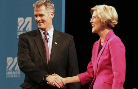 Both candidates were aggressive, while often complaining that they were being misrepresented by their opponent.