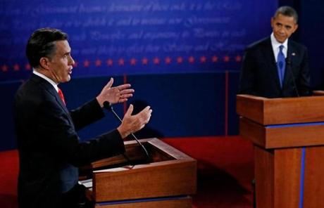 The debate covered a range of domestic topics.