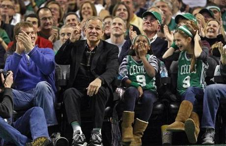 Valentine quickly became a popular sight in Boston, and was cheered at a Celtics game on Dec. 30.