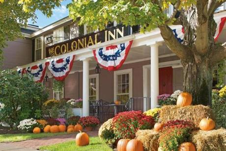 Tthe Colonial Inn in Concord.