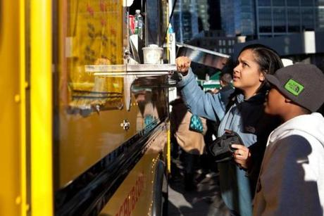 The Food Truck Throwdown offered diverse cuisines.