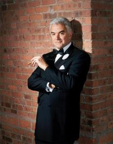 John O'Hurley plays Billy Flynn, a part he's known for years.