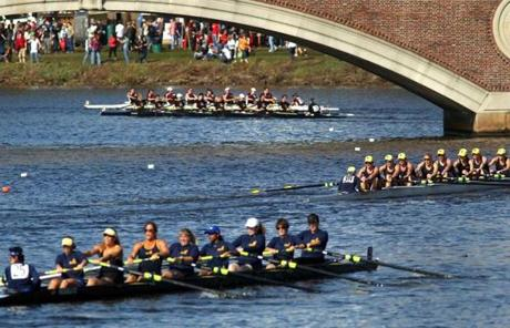 It was the 48th edition of the Head of the Charles Regatta.