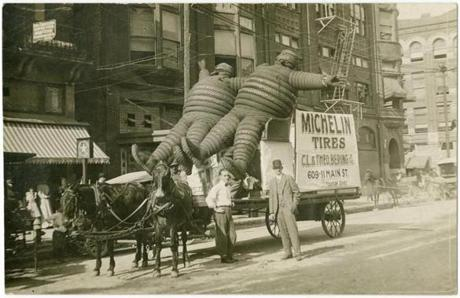 Michelin Tires, an advertisement for C. L. & Theo.