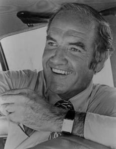 George McGovern is pictured in this 1972 photo.