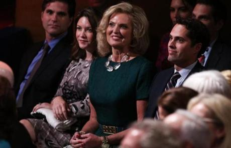 Ann Romney was in the audience before the debate.