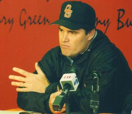 Farrell returned to Oklahoma State as a coach in the 1990s.