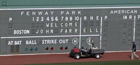 There were positive signs after the Red Sox chose John Farrell as their new manager.