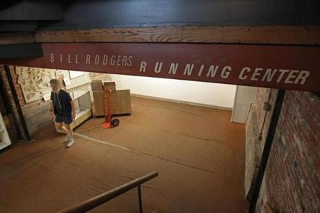 Wednesday marked the final day of business for the Bill Rodgers Running Center store in Faneuil Hall marketplace.