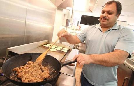 Restaurant owner Jose Hernandez prepared an order. In Nevada, Hispanics account for about 27 percent of the population.