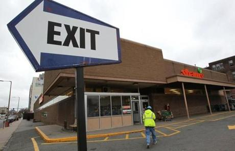 Shaw's, the state's second-largest supermarket operator with 84 stores, recently laid off 700 workers.