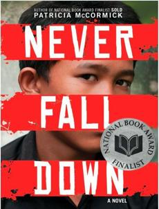 """Never Fall Down"" is a biography of Chorn-Pond and his escape from Cambodia's Killing Fields."