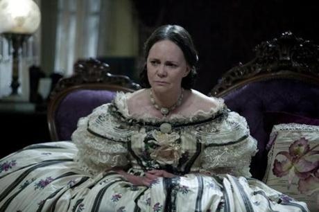 Sally Field breathes life into the role of Mary Todd Lincoln, wife of the president.