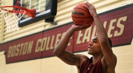 Olivier Hanlan came from a basketball family, but not a basketball country.
