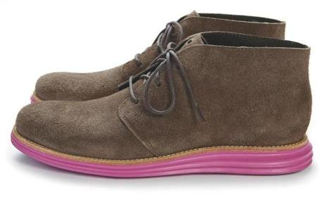 "Cole Haan ""Lunargrand Chukka"" men's shoes, $298 at Concepts, 37 Brattle Street, 617-868-2001, cncpts.com"