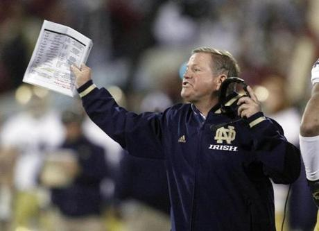 Brian Kelly demonstrated the ability to build three college programs before taking the helm at Notre Dame.