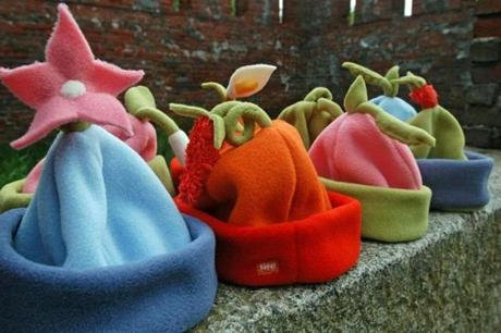 Kids' hats made by Tater Wear of New Hampshire,
