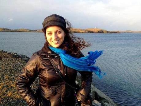 Kate McCulley in the Shetland Islands.