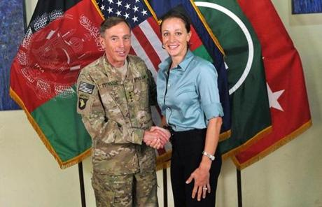 Former CIA director Davis Petraeus met Paula Broadwell in 2006, when she was a student at the Harvard Kennedy School of Government.