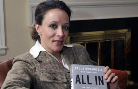 Broadwell co-wrote the Petraeus biography