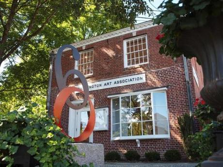 The Washington Art Association is celebrating its 60th year and features the work of artists from all over the world.