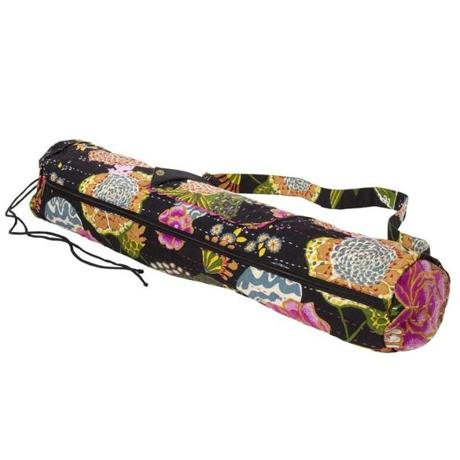 PrAna Bhakti Yoga Bag at Athleta, 92 Newbury Street, Boston, 617-587-9830; Burlington Mall, 75 Middlesex Turnpike, Burlington, 781-229-2369; and Natick Mall, 1245 Worcester Street, Natick, 508-647-1092, athleta.com
