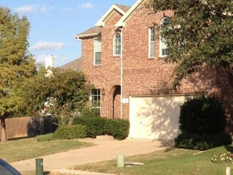 The house in Garland, Texas, where an incident took place in March 2011 that led to a charge of aggravated assault with a deadly weapon against Aqib Talib. The charge was dropped last summer.
