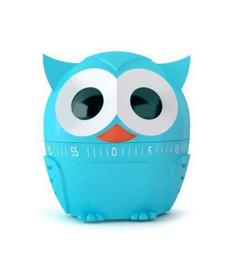 60-minute owl kitchen timer by Kikkerland, $8 at Boutique Fabulous, 1309 Cambridge Street, Cambridge, 617-864-0656, boutiquefabulous.com