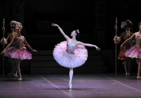 Boston, MA 112112 Misa Kuranaga as the Sugar Plum Fairy in Boston Ballet's new production of