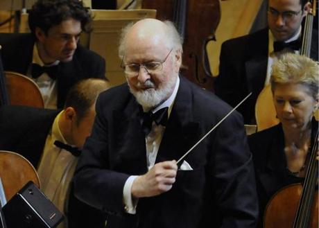 John Williams features eminently in the new Boston Pops season lineup, both as conductor and maker of movie music.