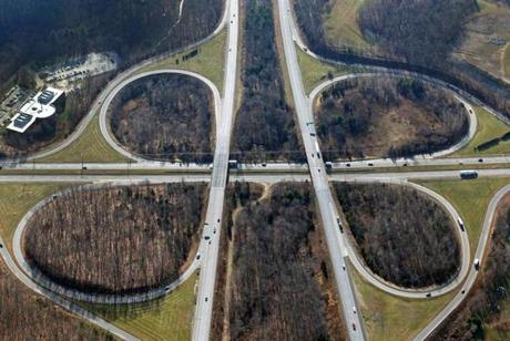 "Interweaving traffic at the I-495/Route 9 interchange, says a state official, creates ""a huge safety issue.''"