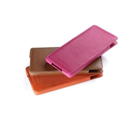 iPhone case by Longchamp, $125 at Longchamp, 139 Newbury St., 617-425-0740, www.longchamp.com.