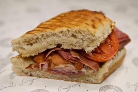 The Italian, from Potbelly Sandwich shop nearby.