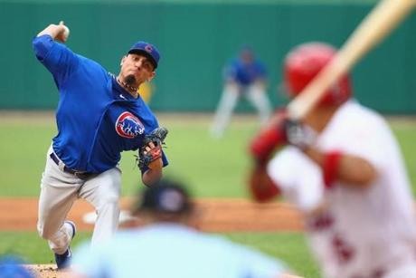 Matt Garza could be attractive to the Red Sox in a trade.