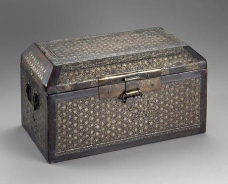 A 13th century sutra box.