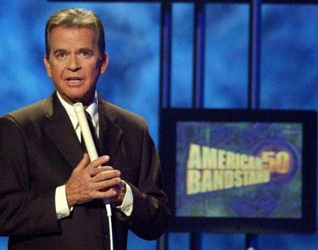 Show-business impresario Dick Clark.