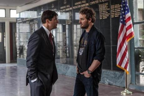 Kyle Chandler (left) stars an embassy bureaucrat and Jason Clarke plays a CIA agent.