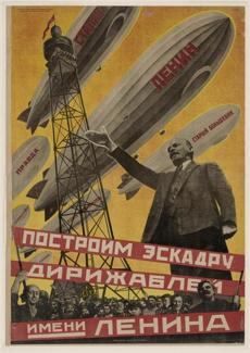 "Georgii Kibardin's ""Let Us Build a Fleet of Airships in Lenin's Name."""