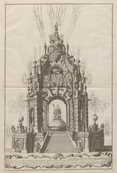"Jean-Louis Daudet's ""Joyful Fireworks Machine Representing the Jubilee of the Po.''"
