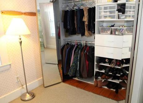 This home has an unusally large amount of closet and storage space for a Victorian of this era.