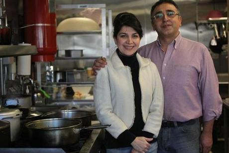 Ala, right, and Roksana Tolouei are the owners of Roksana's Persian Foods.