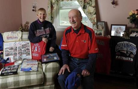 Charles A. Underhill of West Bridgewater has been a Patriot's season ticket holder since 1966. Here are his favorite Patriots moments.