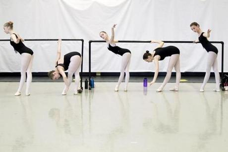 Dancers in the 14-15 age group auditioned for The School of American Ballet summer program at the Boston Ballet in Boston. The international auditions will see about 2,000 prospectives and choose roughly 200.