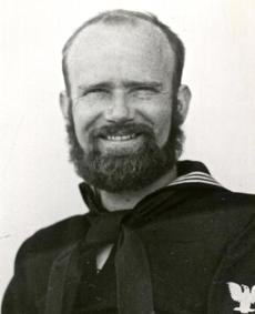 Petty Officer First Class Benjamin Bottoms, Coast Guard in 1942/