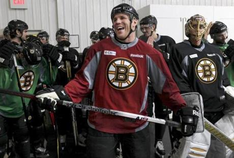 TV work, former Bruin Shawn Thornton said, is the plan for his post-playing career.