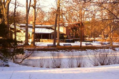 The Pond House Cafe has a congenially woodsy setting in Elizabeth Park in West Hartford.