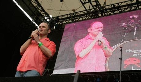 Todd Barry, pictured performing in Brooklyn, N.Y., in 2011, brings his Crowd Work Tour to town Tuesday.