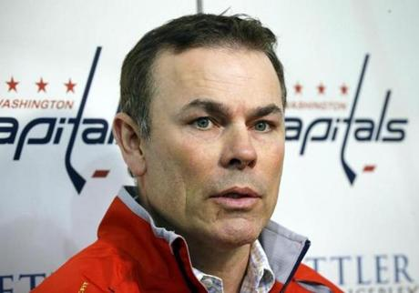 Former Bruin Adam Oates will be in his first season as the Capitals coach.
