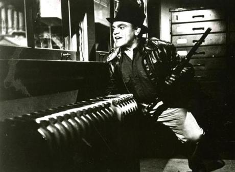 "James Cagney in ""White Heat."""