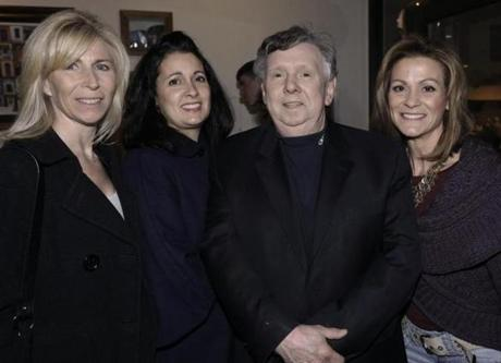 From left: Christine Furkart of South Boston, Maria Cheevers of South Boston, Richard Gormley of West Roxbury, and Laurie McGovern of North Andover.